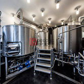 15 BBL Industrial Beer Brewing Equipment China Craft Beer Equipment Nano Machine Fabricante