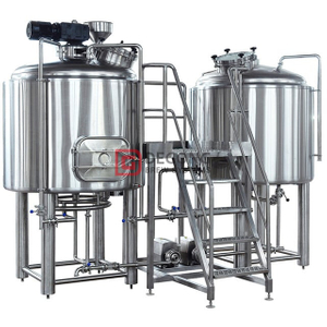 7 BBL 2 Recipientes de acero inoxidable Cerveza Craft Brewing System Brewhouse Equipment China Fabricante