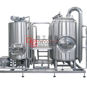 500L Micro Comercial Craft Beer Brewhouse Equipment en venta