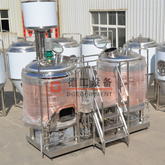 1000L Fresh Bright / gravedad Beer Produce Equipment Craft Complete Beer Brewery para uso comercial